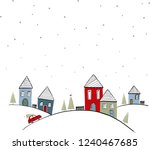 vector illustration in a... | Shutterstock .eps vector #1240467685