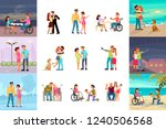 big set of different types of...   Shutterstock .eps vector #1240506568