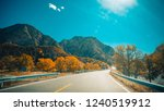 high altitude  snowy mountains  ... | Shutterstock . vector #1240519912