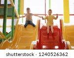 Cute Little Children Playing A...
