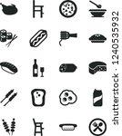 solid black vector icon set  ... | Shutterstock .eps vector #1240535932
