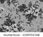 black honeycomb fashion mottled ... | Shutterstock .eps vector #1240552168