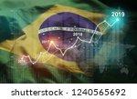 growing statistic financial... | Shutterstock . vector #1240565692