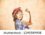 we can do it   woman's day. 8... | Shutterstock . vector #1240589908