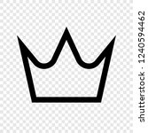 crown vector icon transparent...
