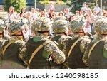 zaporizhzhia  ukraine   august... | Shutterstock . vector #1240598185