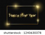 gold shiny glowing vintage... | Shutterstock .eps vector #1240630378