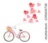 happy valentine's day.... | Shutterstock . vector #1240634728