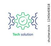 integration concept  technology ... | Shutterstock .eps vector #1240640818