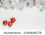 high angle christmas decoration ... | Shutterstock . vector #1240668178