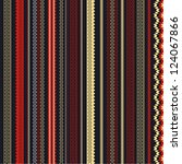 vertical ethnic patterns | Shutterstock .eps vector #124067866