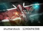 growing statistic financial... | Shutterstock . vector #1240696588