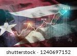 growing statistic financial... | Shutterstock . vector #1240697152