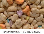 close view of generic crunchy...   Shutterstock . vector #1240775602