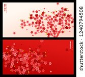 chinese new year background.... | Shutterstock .eps vector #1240794508