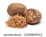 Nutmeg And Nutmeg Granules...