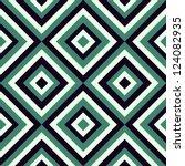 Geometrical Pattern In Retro...