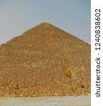 the egyptian pyramid wall | Shutterstock . vector #1240838602