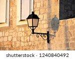 wall hanging street lamp | Shutterstock . vector #1240840492