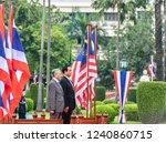 bangkok 25 oct 2018 gen. prayut ... | Shutterstock . vector #1240860715