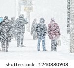 Blizzard In An Urban...