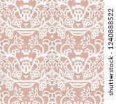 lace black seamless pattern...   Shutterstock .eps vector #1240888522