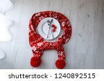 cutlery and christmas decor | Shutterstock . vector #1240892515