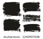calligraphy paint brush... | Shutterstock .eps vector #1240907038