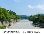 landscape view from a bridge in ... | Shutterstock . vector #1240914622