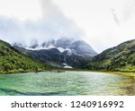 valley lake view under the the... | Shutterstock . vector #1240916992