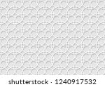 vector seamless volumetric... | Shutterstock .eps vector #1240917532