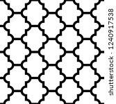vector seamless geometric... | Shutterstock .eps vector #1240917538