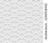vector seamless oriental... | Shutterstock .eps vector #1240918432