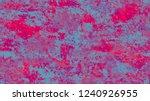 halftone grunge vector pop art... | Shutterstock .eps vector #1240926955