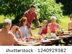 leisure  holidays and people... | Shutterstock . vector #1240929382