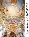 steingaden   bavaria   germany  ... | Shutterstock . vector #1240949638