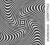 abstract op art graphic design. ... | Shutterstock .eps vector #1240977412
