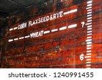 height indicators for various... | Shutterstock . vector #1240991455