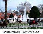 sultanahmet square  istanbul ...   Shutterstock . vector #1240995655
