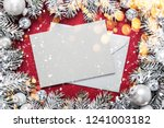 merry christmas and happy... | Shutterstock . vector #1241003182