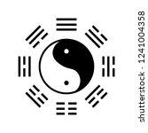 yin yang bagua symbol | Shutterstock .eps vector #1241004358