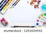 art mockup. colorful mockup for ... | Shutterstock . vector #1241024542