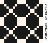 black and white vector grid... | Shutterstock .eps vector #1241026915