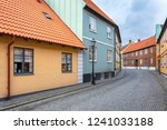 street scene from the swedish... | Shutterstock . vector #1241033188