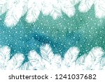 christmas and happy new year...   Shutterstock . vector #1241037682