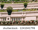 luxury house decorated for... | Shutterstock . vector #1241041798