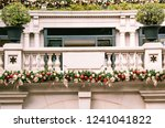 luxury house decorated for... | Shutterstock . vector #1241041822