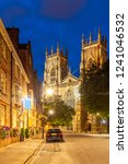 york minster cathedral sunset... | Shutterstock . vector #1241046532