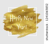 new year banner with golden... | Shutterstock . vector #1241065852