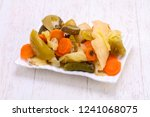 Pickled Vegetables Mix In The...